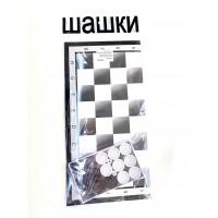 Шахматная доска с шашками