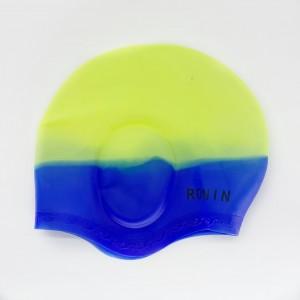 Шапочка для плавания с выемкой для ушей